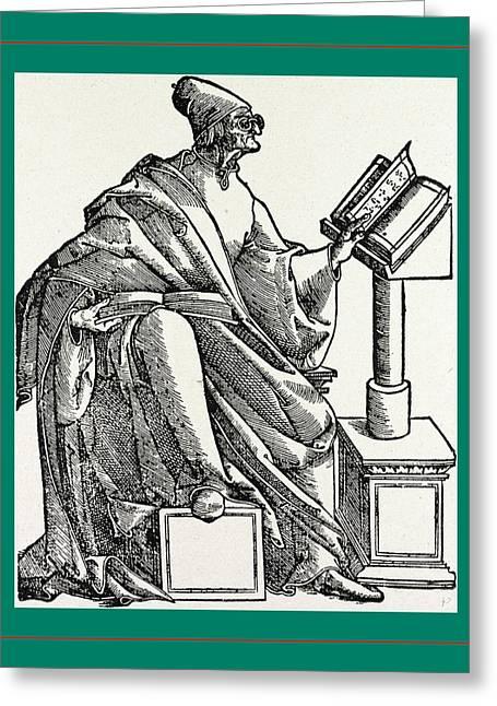 Josephus Flavius, Venezia Greeting Card by Litz Collection