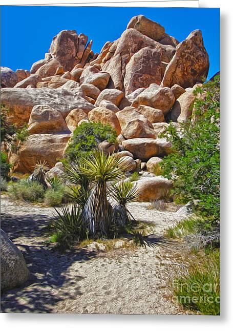 Joshua Tree - 08 Greeting Card by Gregory Dyer