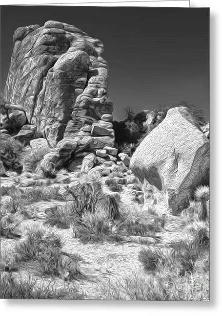 Joshua Tree - 14 Greeting Card by Gregory Dyer