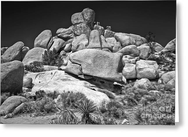 Joshua Tree - 15 Greeting Card by Gregory Dyer