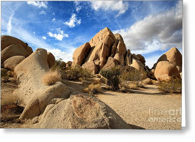 Joshua Tree National Park Inselberg Formations Greeting Card
