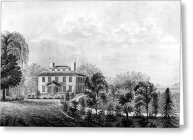 Josiah Quincy House Greeting Card by Granger