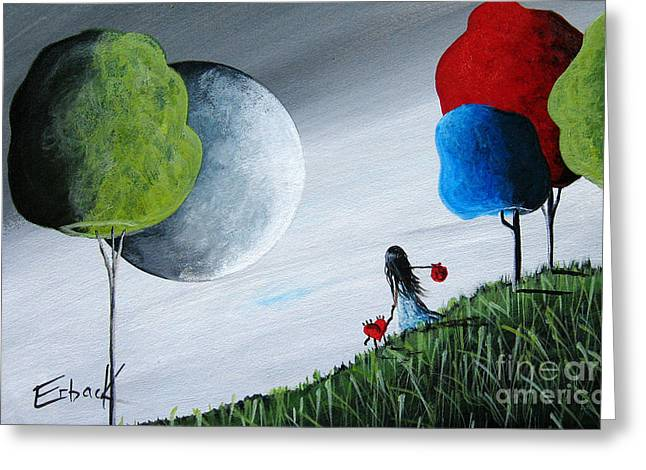 Journey Home By Shawna Erback Greeting Card