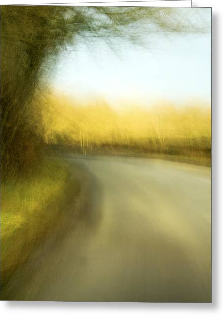Journey Greeting Card by Natalie Kinnear