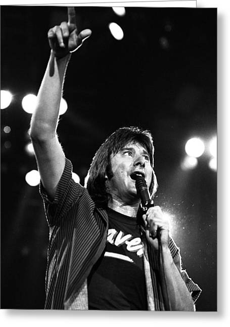 Journey Steve Perry 1983 Greeting Card
