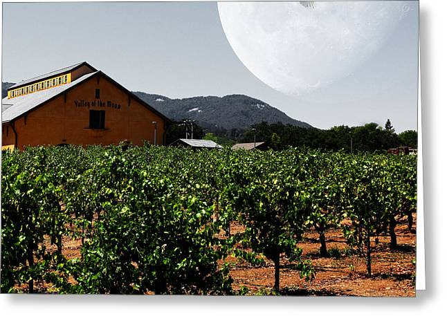 Journey Through The Valley Of The Moon 5d24485 Square Greeting Card by Wingsdomain Art and Photography