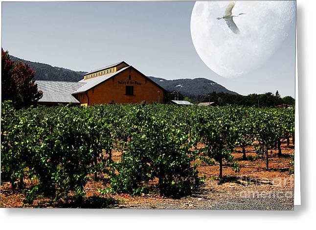 Journey Through The Valley Of The Moon 5d24485 Greeting Card by Wingsdomain Art and Photography