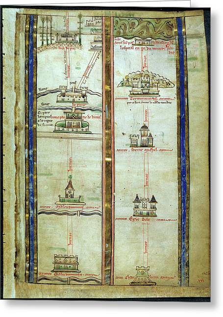 Journey To Jerusalem Greeting Card by British Library