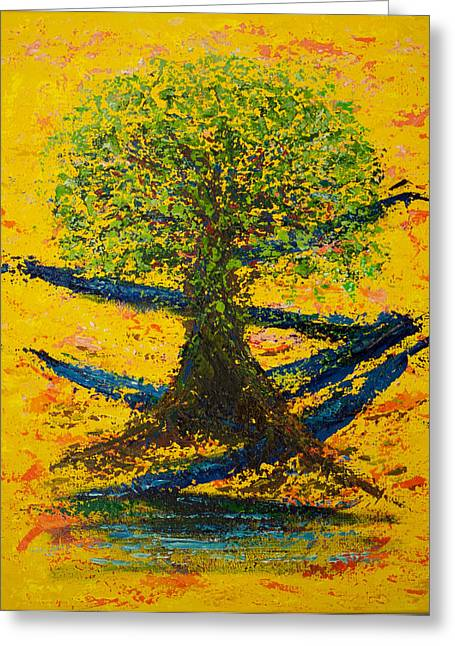 Joy And Strength Greeting Card by William Killen