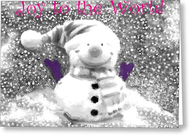 Joy To The World- Greeting Card Greeting Card