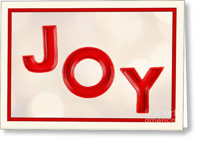 Greeting Card featuring the photograph Joy To The World by Vizual Studio