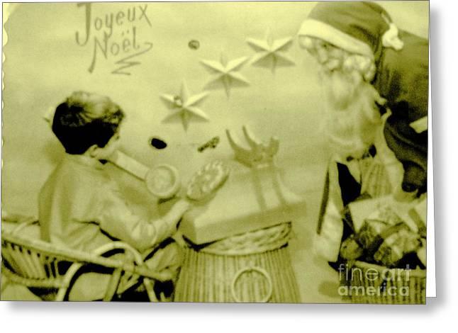 Joyeux Noel - Merry Christmas - Ile De La Reunion - Indian Ocean Greeting Card by Francoise Leandre