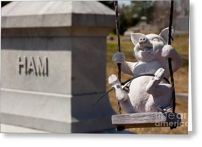 Joyful Eternity - Green Hill Cemetery Greensboro Greeting Card