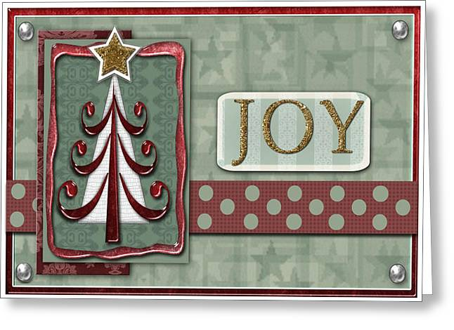 Joyful Tree Card Greeting Card by Arline Wagner