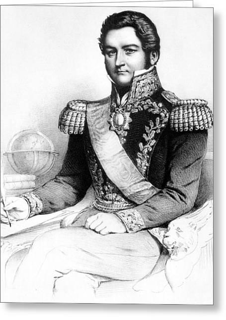 Juan Manuel De Rosas (1793-1877) Greeting Card