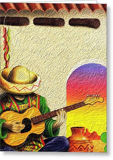 Juan's Song Greeting Card
