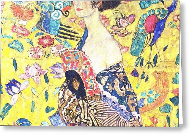 Judith 2 By Gustav Klimt Greeting Card by Pg Reproductions