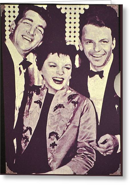 Judy Garland And Friends Greeting Card