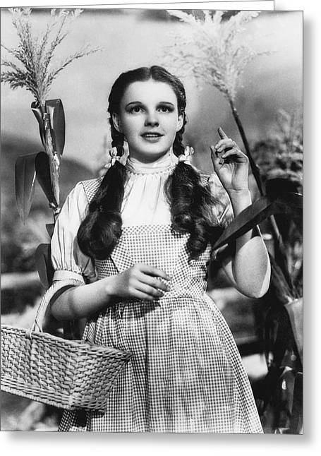 Judy Garland As Dorothy Greeting Card