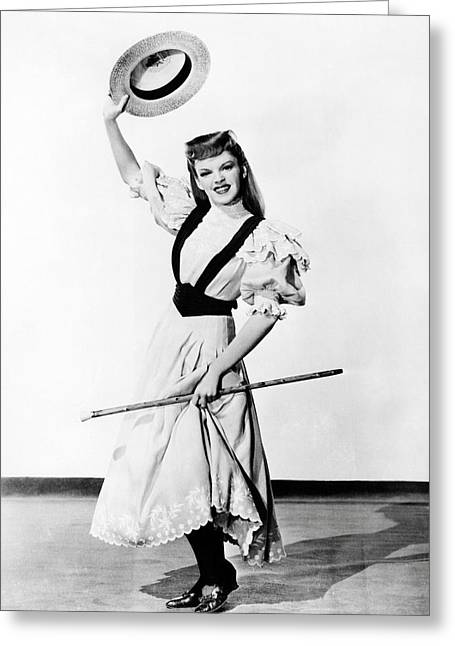 Judy Garland In Meet Me In St. Louis  Greeting Card by Silver Screen