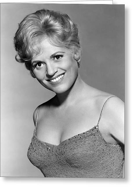 Judy Holliday In Bells Are Ringing  Greeting Card