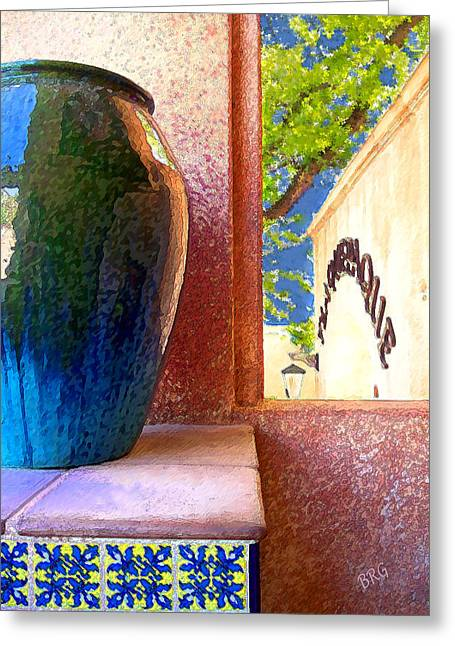 Jug And Window Greeting Card by Ben and Raisa Gertsberg