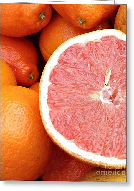 Juicy Goodness Greeting Card by Roxanne Marshal