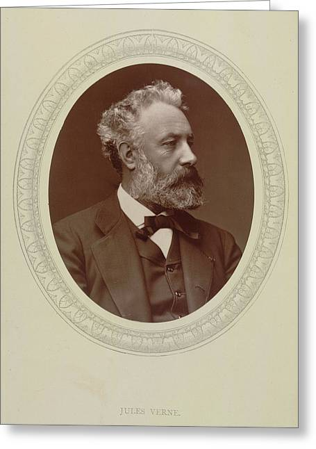 Jules Verne Greeting Card by British Library