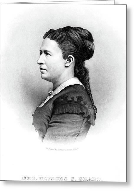 Julia Dent Grant (1826-1902) Greeting Card by Granger