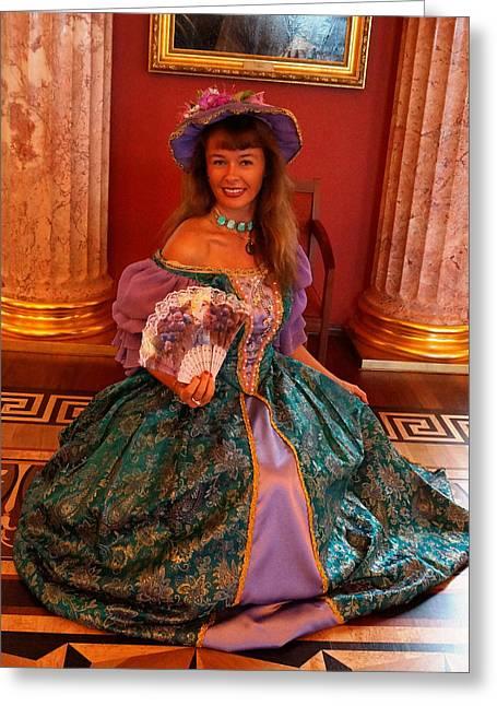 Julia Ivanovna Tanner Greeting Card