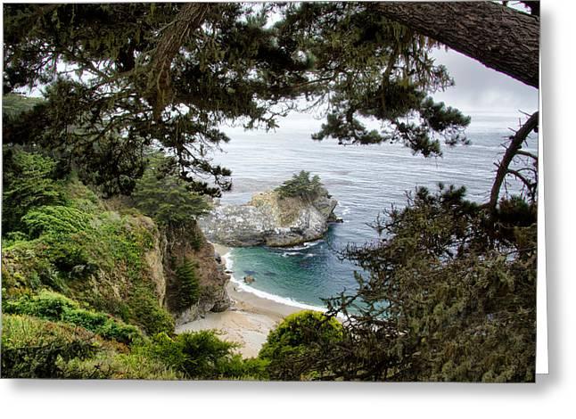 Julia Pfeiffer Park - Pacific Coast Highway California Greeting Card