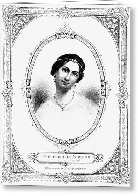 Julia Tyler (1820-1869) Greeting Card by Granger