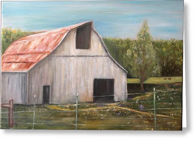Julian Homestead Barn Greeting Card