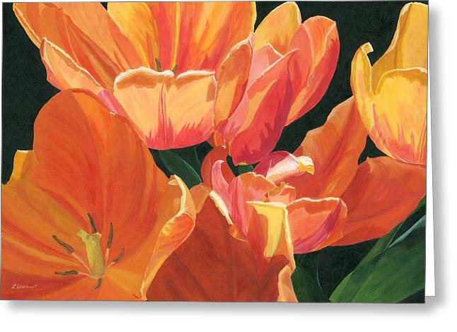 Julie's Tulips Greeting Card