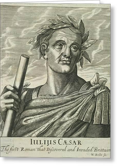 Julius Caesar Greeting Card by British Library