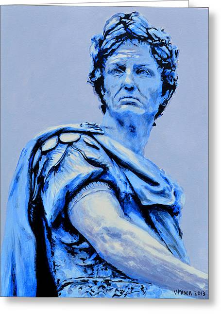 Julius Caesar Greeting Card