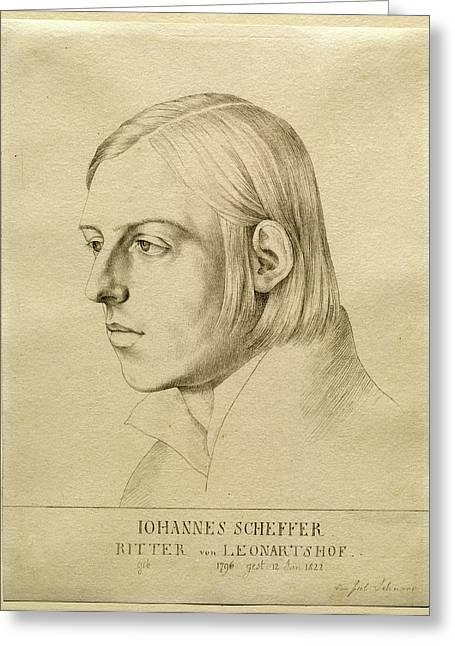 Julius Schnorr Von Carolsfeld, German 1794-1872 Greeting Card by Litz Collection