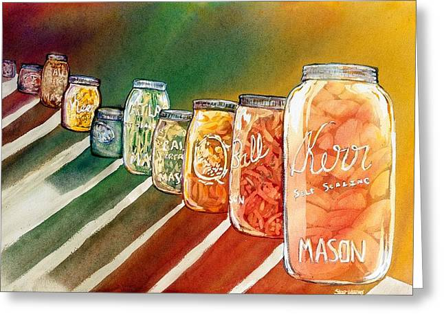 July's Harvest Greeting Card by Starr Weems