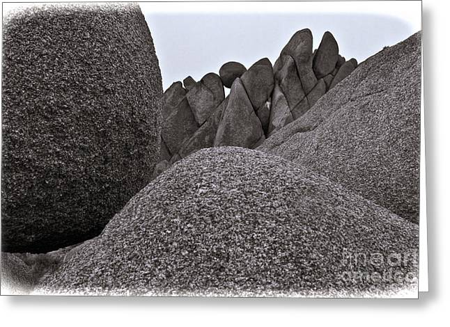 Jumbo Rocks Greeting Card