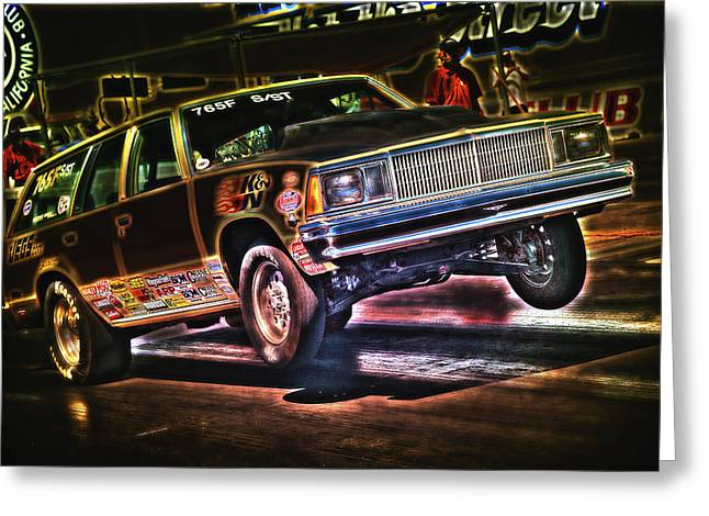Jumping Chevelle Greeting Card