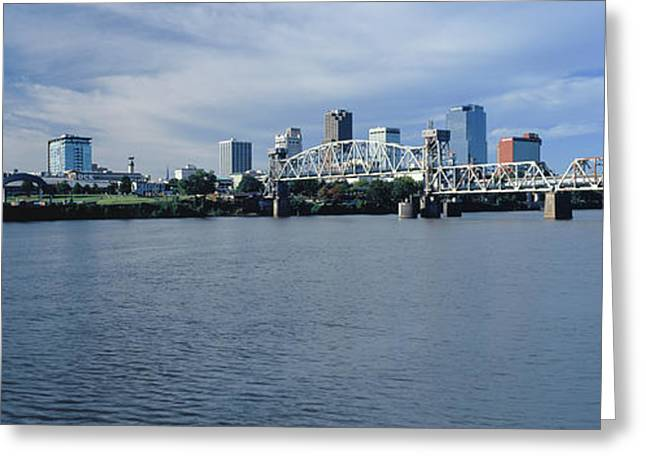 Junction Bridge Over Arkansas River Greeting Card