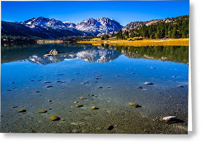 June Lake California Greeting Card