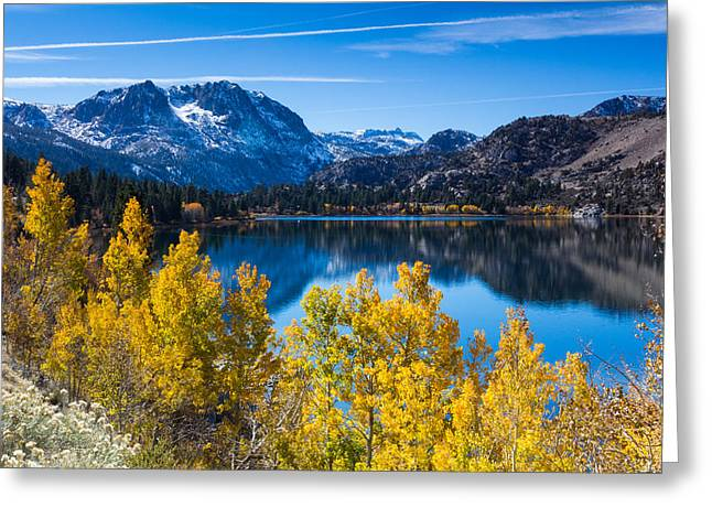 June Lake Greeting Card