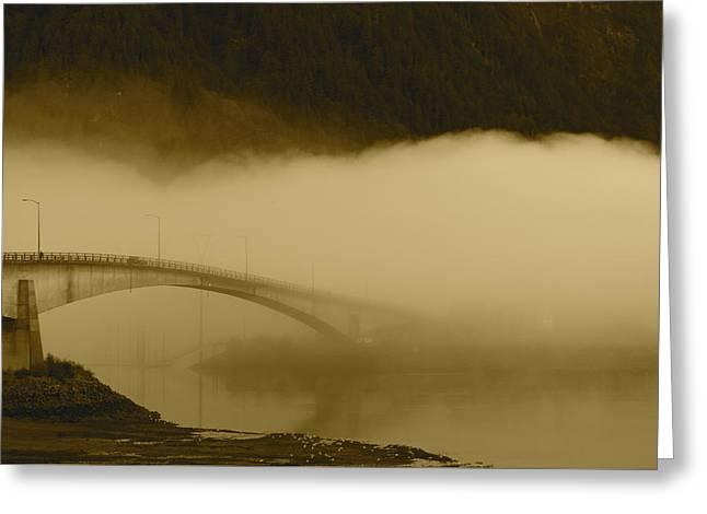 Juneau - Douglas Bridge Greeting Card