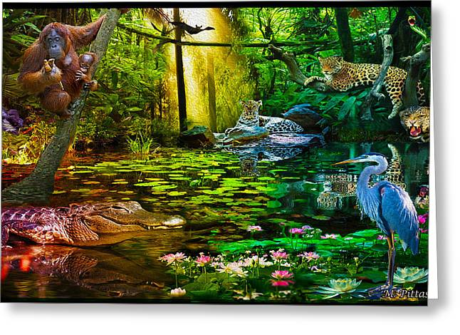 Jungle Dream 2 Greeting Card