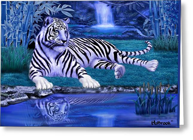 Jungle Tiger Greeting Card