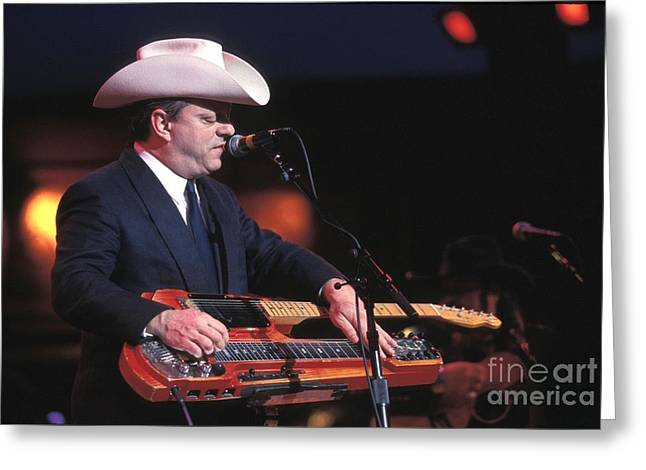 Junior Brown Greeting Card by Concert Photos