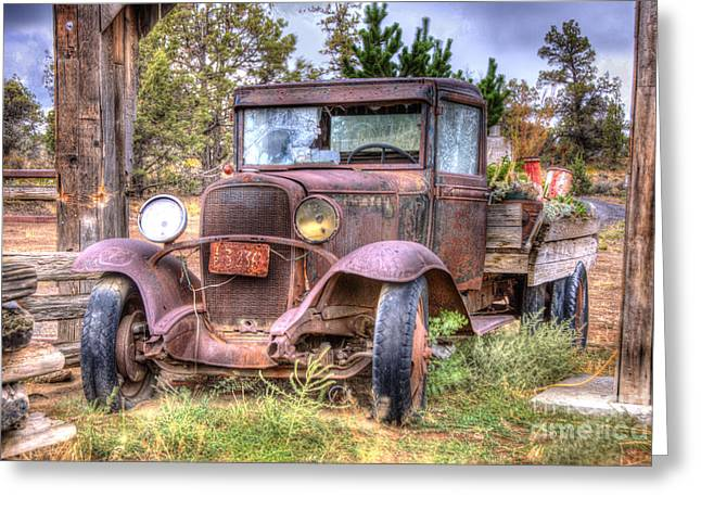 Junk Yard Special Greeting Card by Juli Scalzi