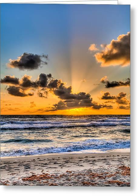 Juno Beach Sunrise Greeting Card