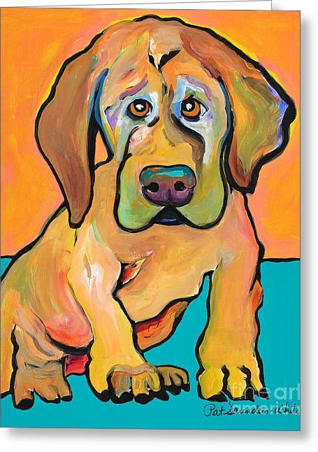 Juno Greeting Card by Pat Saunders-White